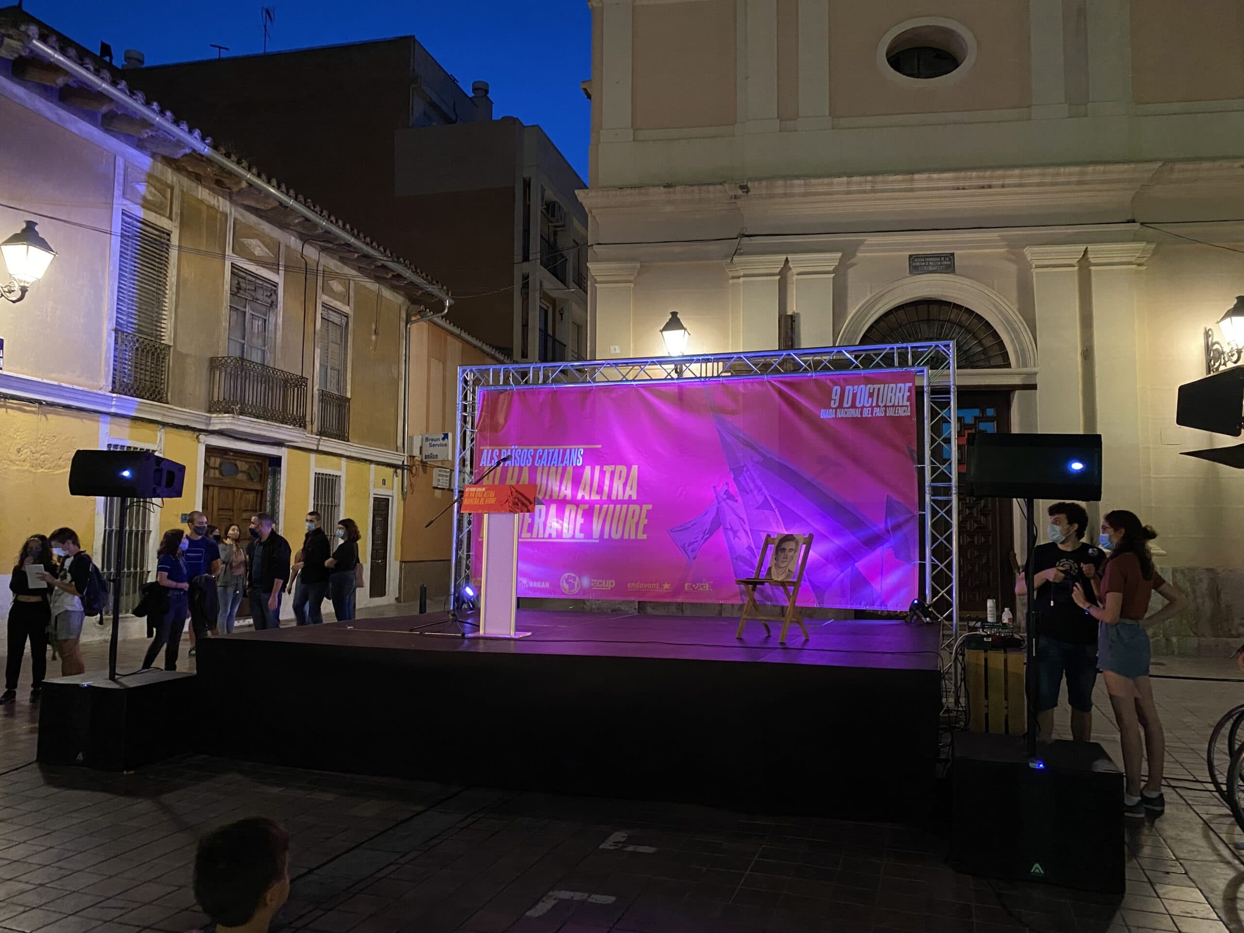 Alquiler Tarimas Escenario Valencia